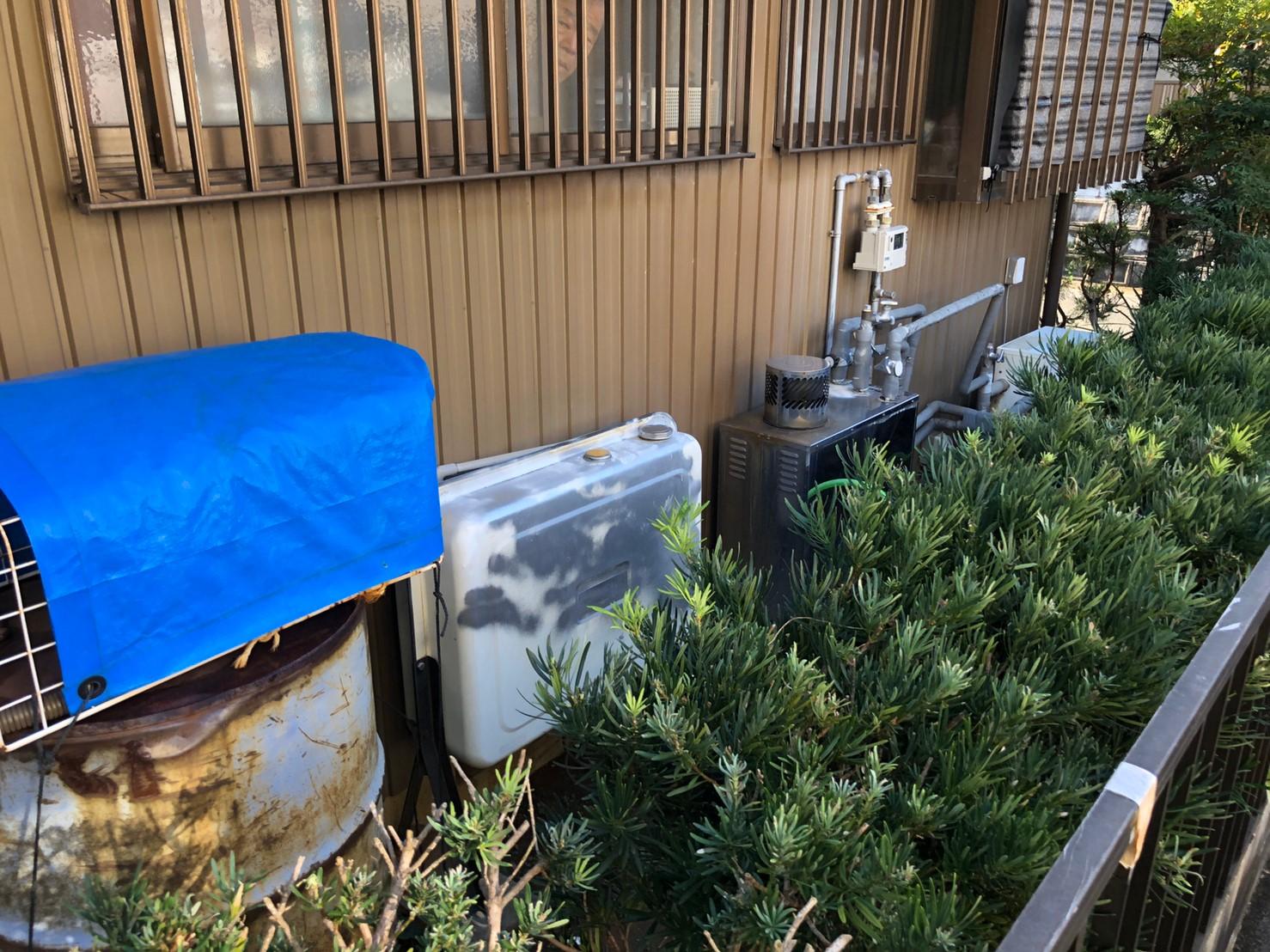 兵庫県三菱エコキュートSRT-S374U施工前の写真