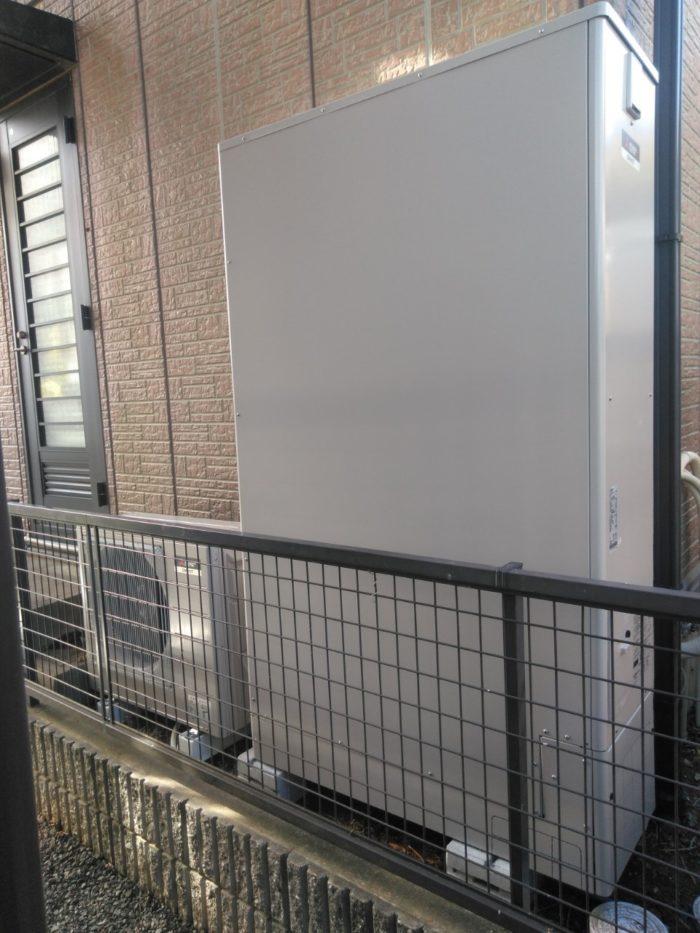 三菱エコキュートSRT-S374UZ施工後の写真