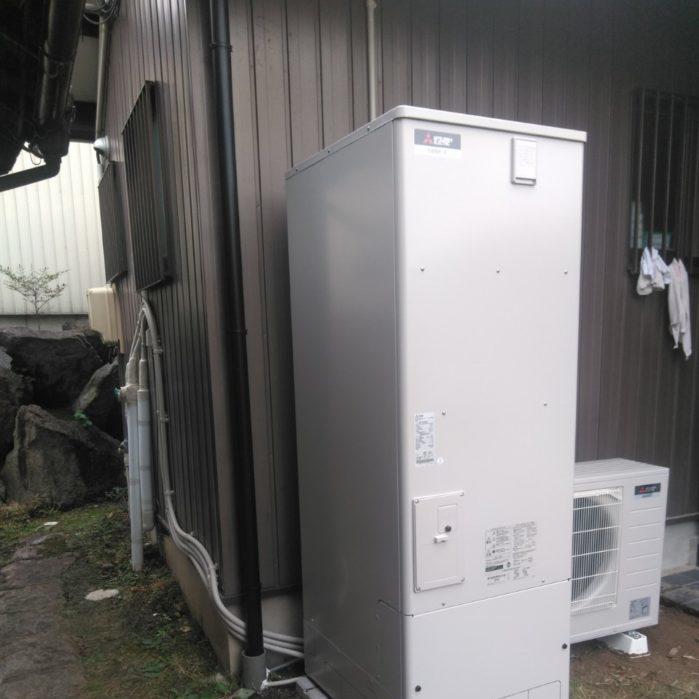 大阪府三菱エコキュート SRT-S374UA施工後の写真