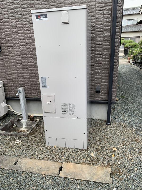 三菱エコキュートSRT-S374U施工後の写真