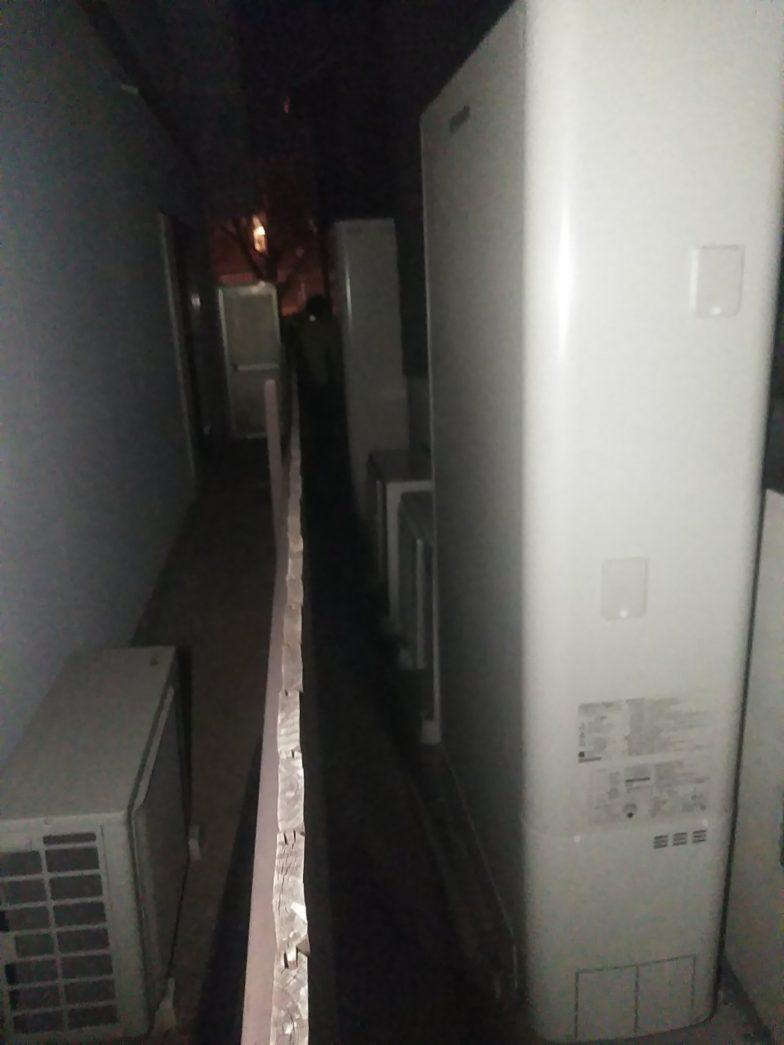 大阪府東芝エコキュートHWH-B376W施工後の写真