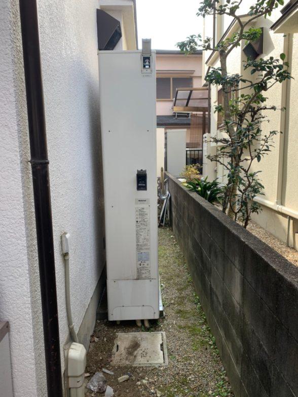 兵庫県ダイキンエコキュートEQ46UFTV施工後の写真