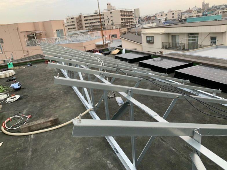 大阪府長州産業CS-274B61 33枚施工前の写真