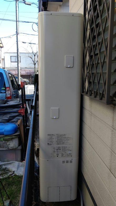 三重県東芝エコキュートHWH-B376HWA施工後の写真