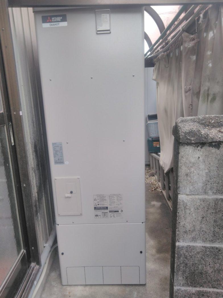 奈良県三菱エコキュートSRT-S374UA施工後の写真