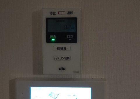 大阪府nichicon蓄電池ESSU2M1施工後その他の写真1