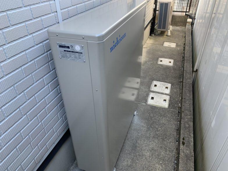 大阪府nichiconESSU2M1施工後の写真