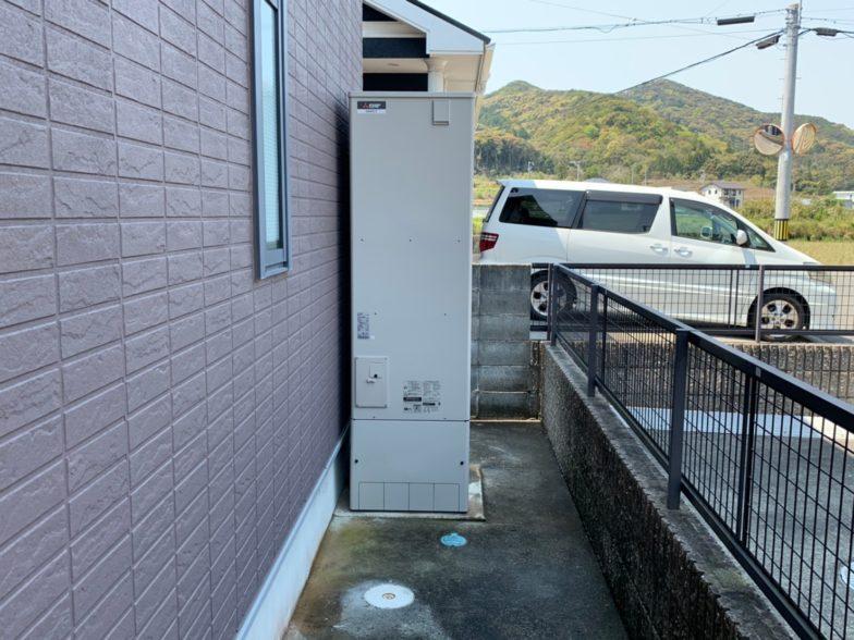 和歌山県三菱エコキュートSRT-S464UA施工後の写真