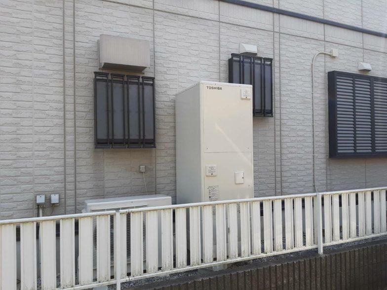 和歌山県東芝エコキュートHWH-B466H施工後の写真