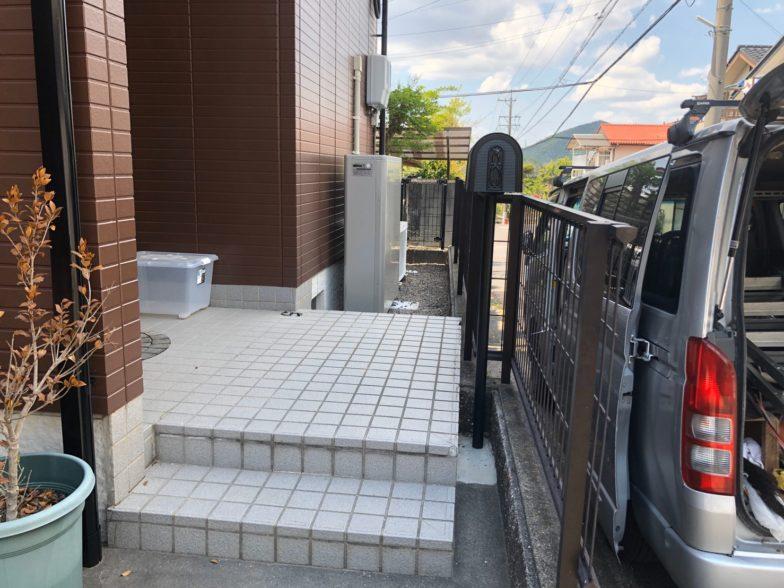 奈良県ニチコン蓄電池ESS-U2M1施工後の写真