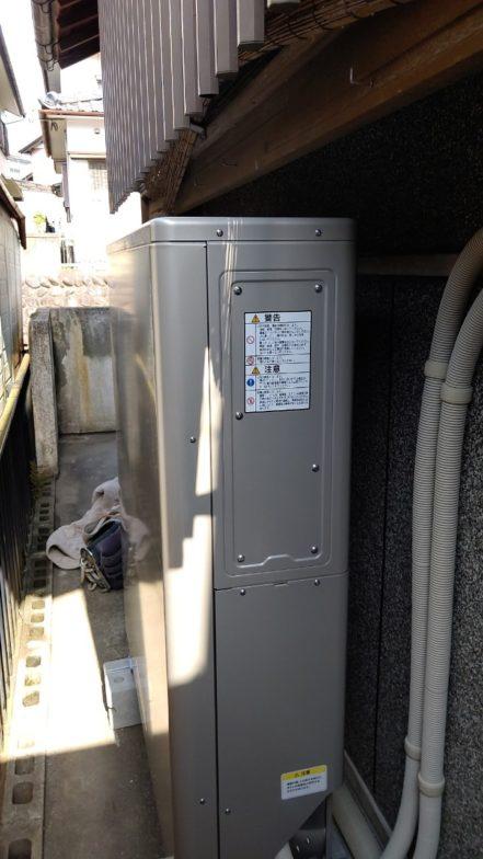 大阪府ニチコン蓄電池ESS-U2M1施工後の写真