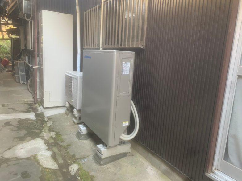 兵庫県nichicon蓄電池ESS-U2M1施工後の写真