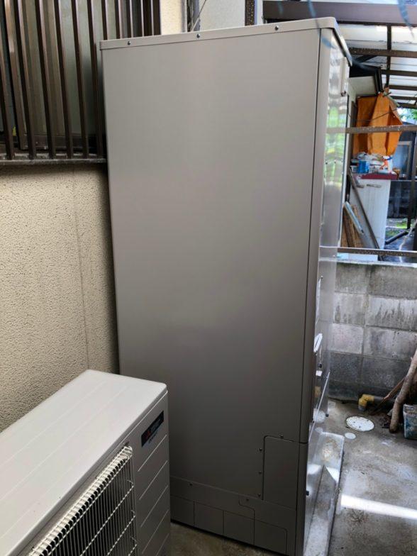 兵庫県三菱エコキュートSRT-P374B施工後の写真