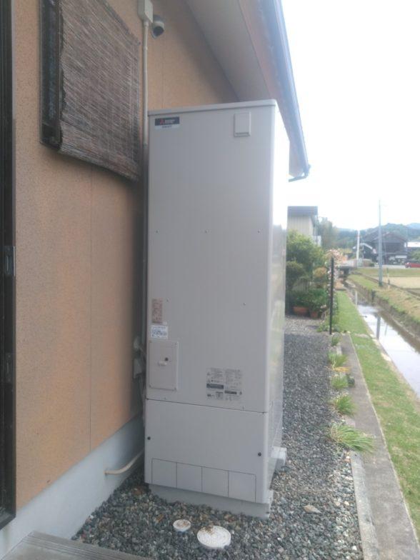 兵庫県三菱エコキュートSRT-S464UA施工後の写真