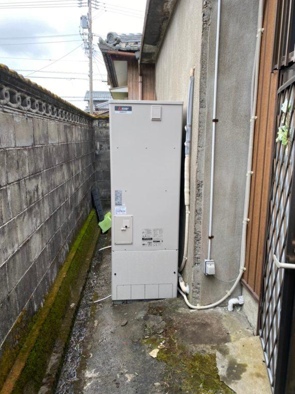 和歌山県三菱エコキュートSRT-S374UA施工後の写真