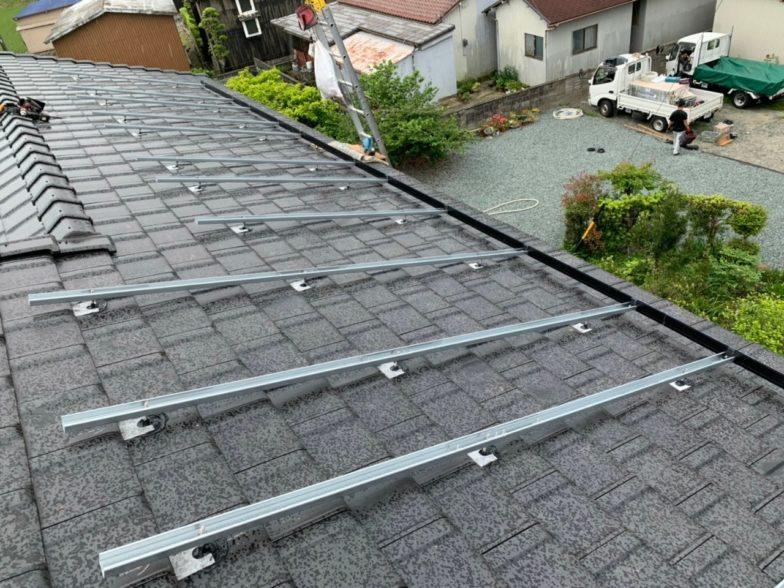奈良県Qセルズ太陽光発電システムQ PEAK-G5.1 310施工前の写真