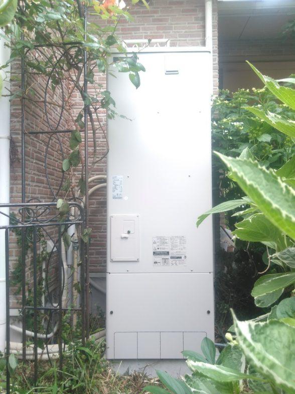 岐阜県三菱エコキュートSRT-S374UA施工後の写真