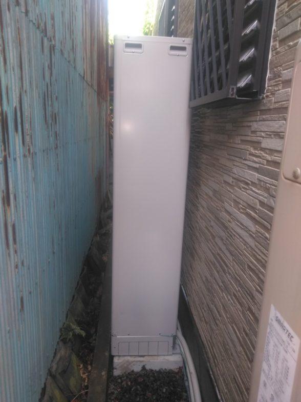 岐阜県三菱エコキュートSRT-S374UZ施工後の写真