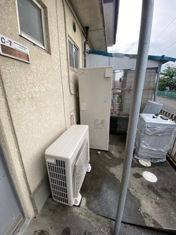 大阪府日立エコキュートBHP-F46SD施工後の写真