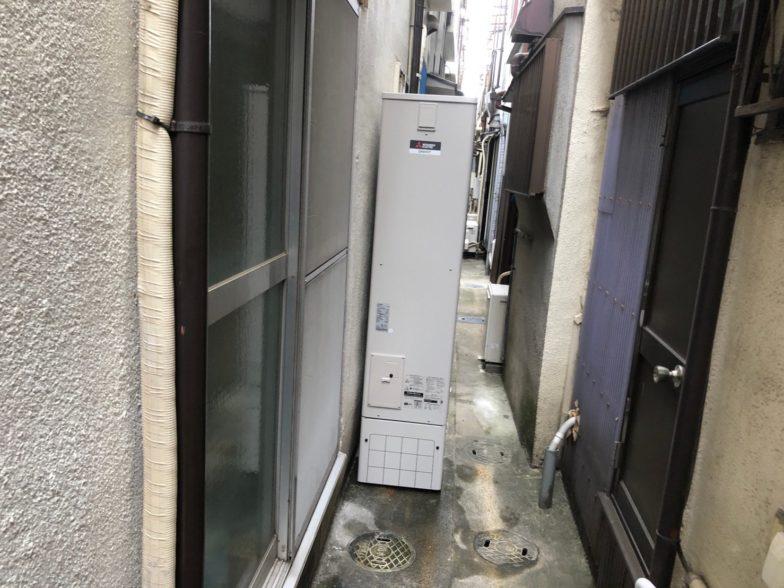 大阪府三菱エコキュートSRT-S374UZIHクッキングヒーターCS-PT316HNWSR施工後の写真