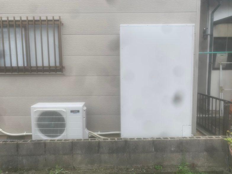 三重県三菱エコキュートSRT-S374UZ施工後の写真