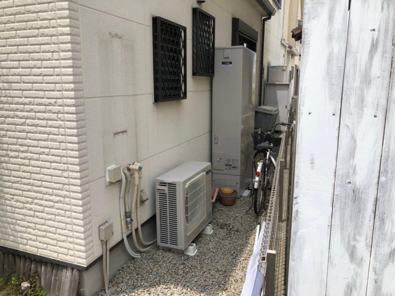 大阪府三菱エコキュートSRT-S374UAIHクッキングヒーターCS-PT316HNSR施工後の写真