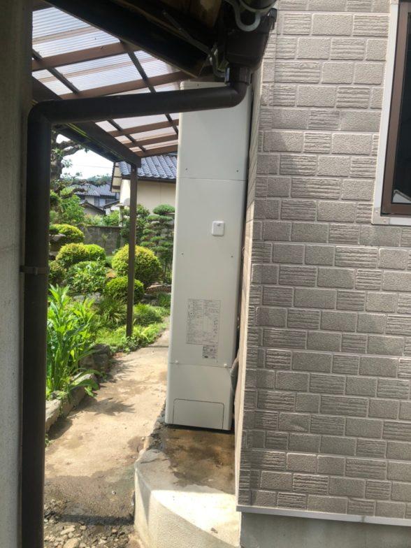 三重県日立エコキュートBHP-FS46SH施工後の写真
