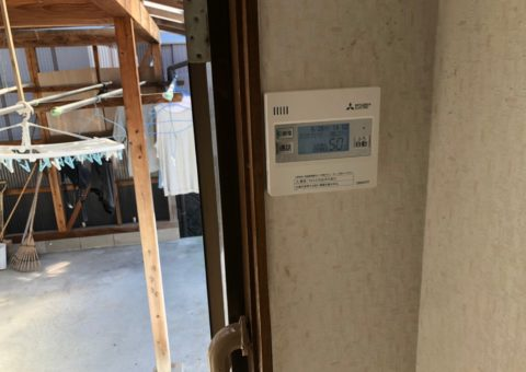 滋賀県三菱エコキュートSRT-S464UA施工後その他の写真1