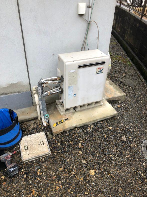 兵庫県三菱エコキュートSRT-S374UA施工前の写真