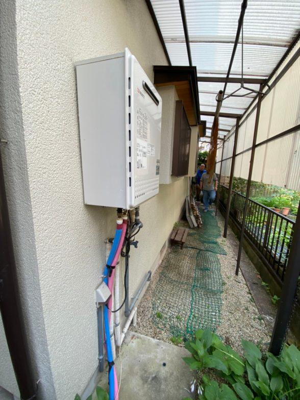 京都府東芝エコキュートHWH-B376HWAIHクッキングヒーターCS-PT316HNSR施工前の写真