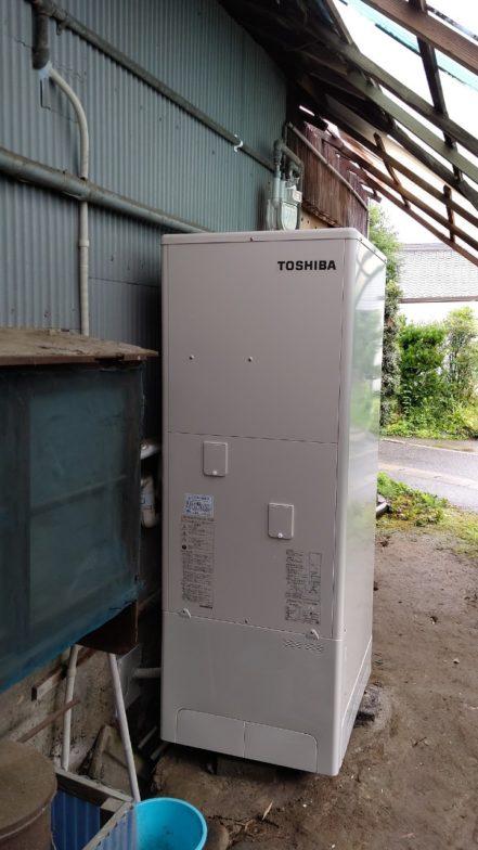 和歌山県東芝エコキュートHWH-B376施工後の写真