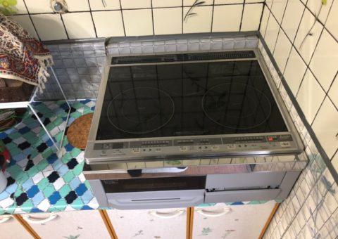 大阪府三菱エコキュートSRT-S464UAIHクッキングヒーターCS-G318M施工後その他の写真1