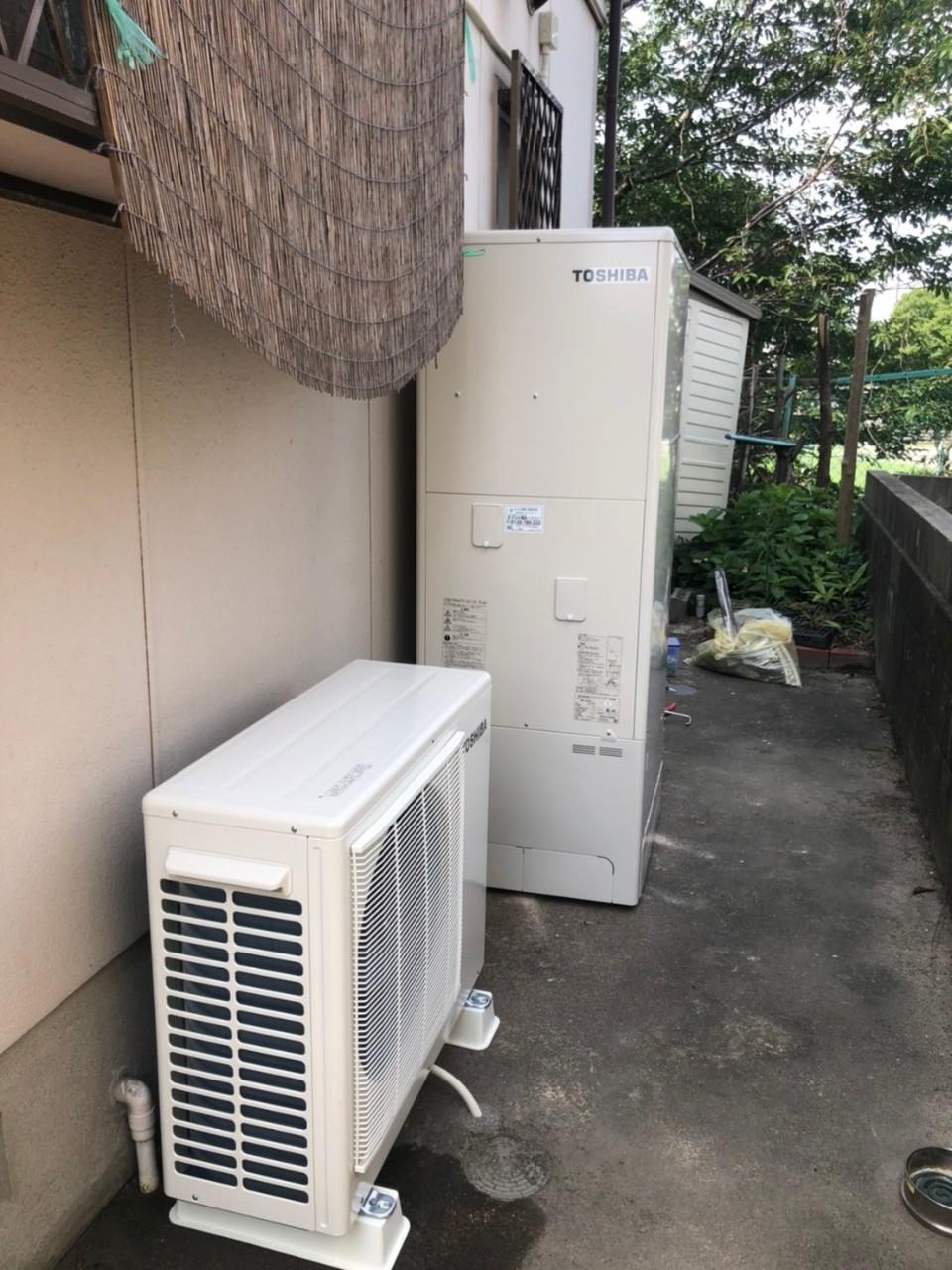 大阪府東芝エキュートHWH-B376HB376H施工後の写真