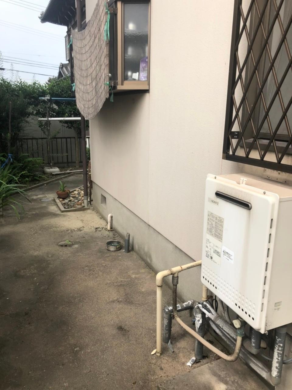 大阪府東芝エキュートHWH-B376HB376H施工前の写真