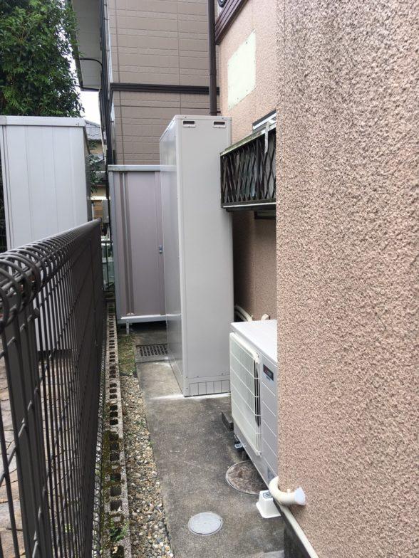大阪府三菱エコキュートSRT-S434UZ施工後の写真