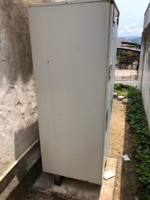 和歌山県三菱エコキュートSRT-N374施工前の写真