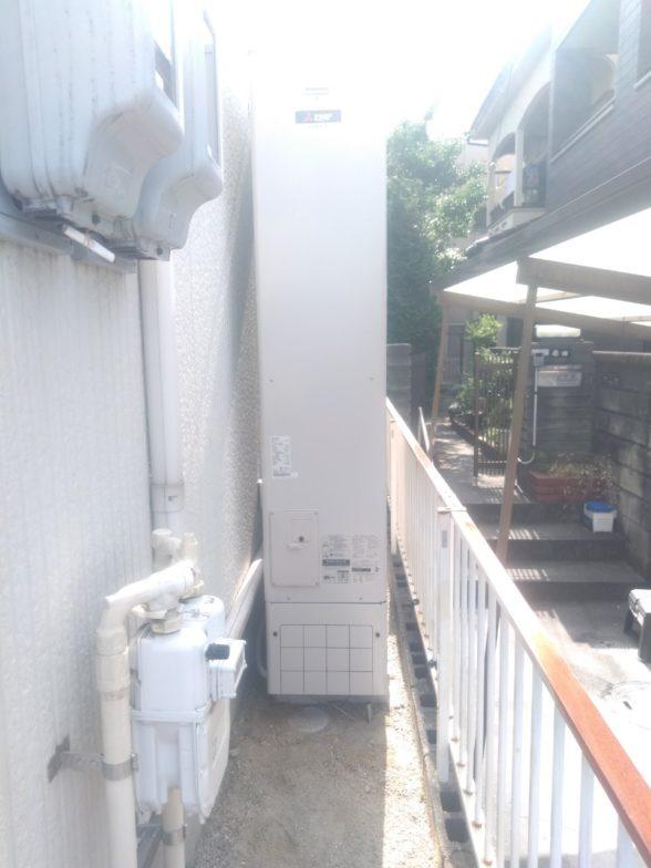 滋賀県三菱エコキュートSRT-S374UA施工後の写真