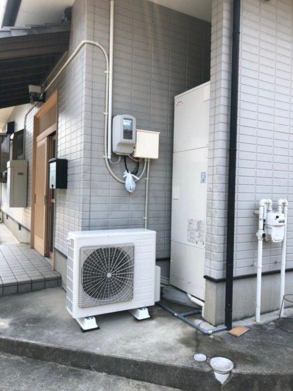 奈良県日立エコキュートBHP-F46SD施工後の写真