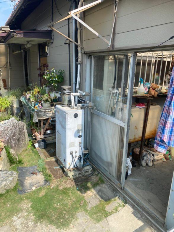 愛知県日立エコキュートBHP-F37SD施工前の写真