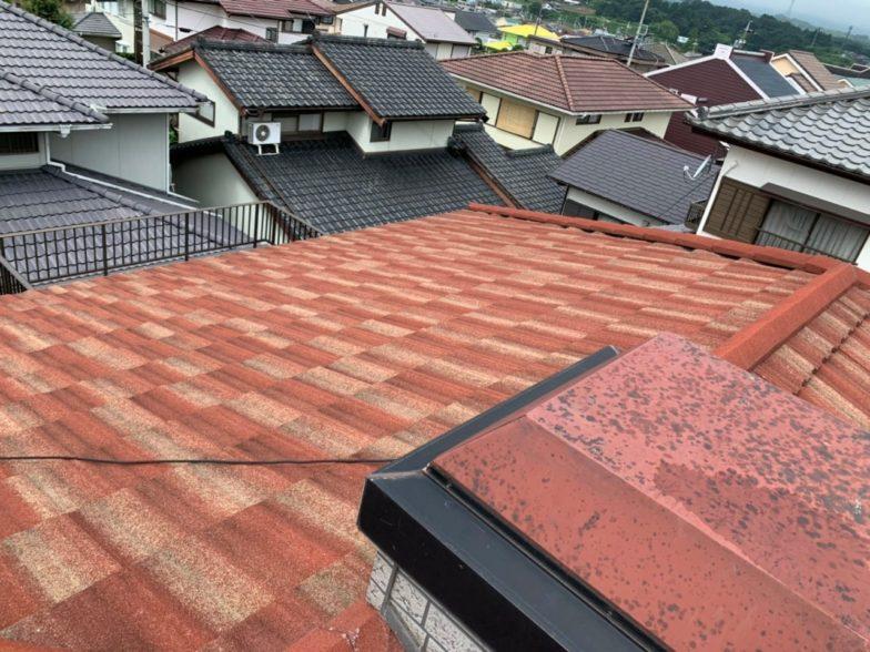 京都府QcellsQ.PEAK DUO-G6 10枚施工前の写真