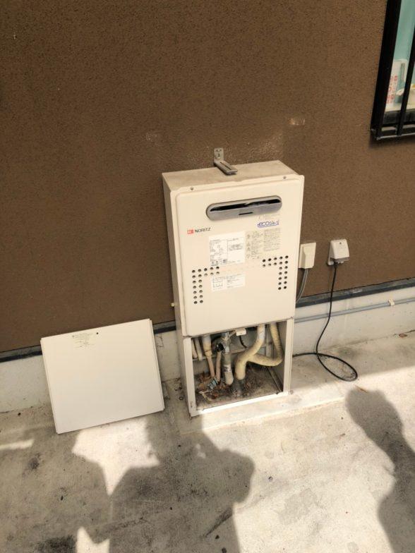 岐阜県東芝エコキュートHWH-B376H施工前の写真