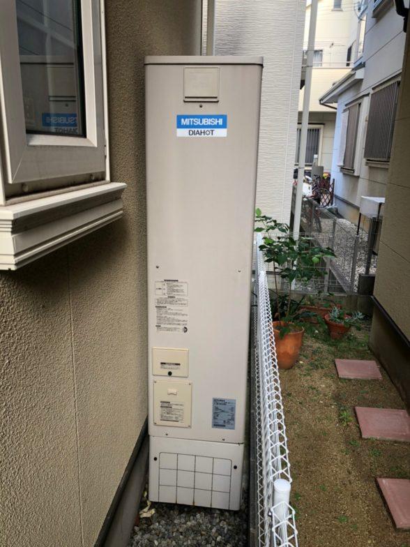 兵庫県東芝エコキュートHWH-B376HWA施工前の写真