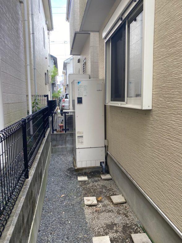 京都府日立エコキュートBHP-F37SD施工前の写真