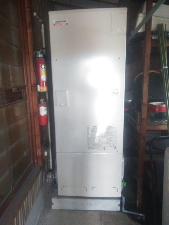 滋賀県日立エコキュートBHP-F37SD施工後の写真