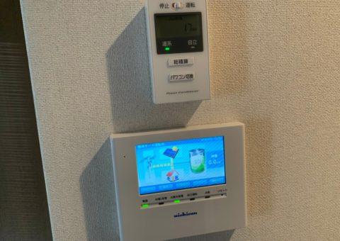 奈良県nichicon蓄電池ESS-U2M1施工後その他の写真1