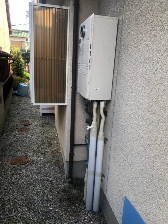 兵庫県東芝エコキュートHWH-B466H施工前の写真