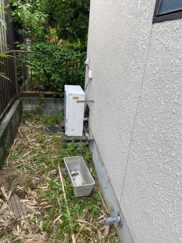和歌山県東芝エコキュートHWH-B376HW施工前の写真