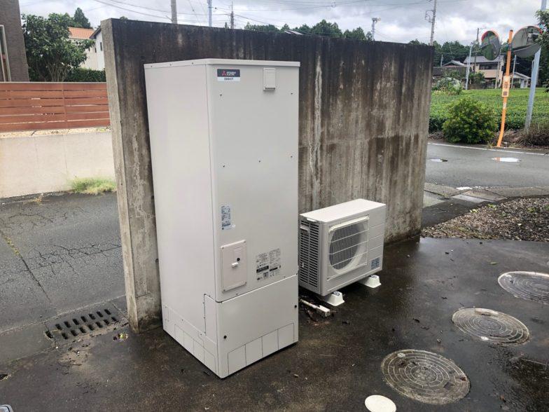 三重県三菱エコキュートSRT-C375施工後の写真