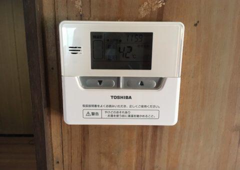 三重県東芝エコキュートHWH-F376H 施工後その他の写真1