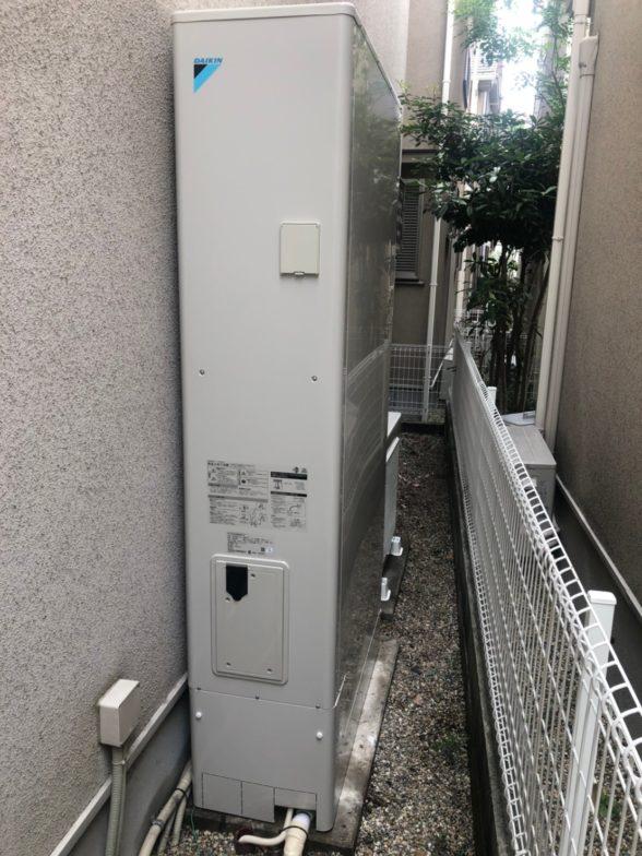 兵庫県ダイキンエコキュートEQX46VFTV施工後の写真